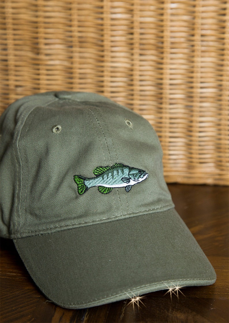 Saltwater Freshwater Fish Flashlight Baseball Hat Gift for  9a5fcfd11cbc