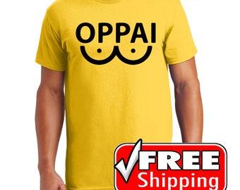 One Punch Man Saitama OPPAI Oppai shirt by Tori's World