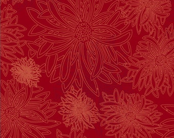 Floral Elements by Art Gallery Fabrics, Scarlet, FE514