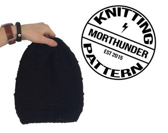 Simple Knitting Dart Beanie Pattern by Morthunder
