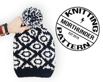 Fabulous Ojo Beanie Knitting Pattern by Morthunder