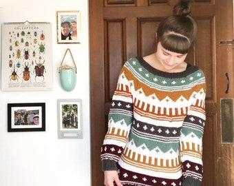 Handmade Fall Palette Montezuma Sweater by Morthunder