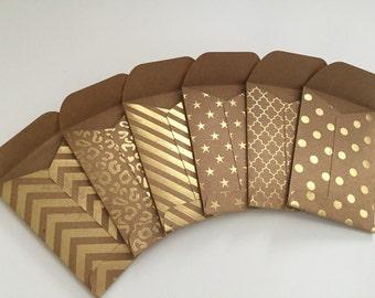 Mini envelopes Etsy