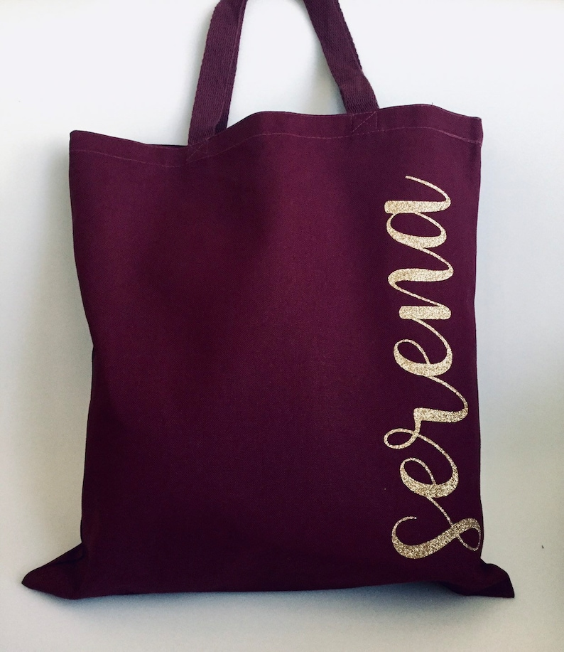 Custom Tote Bags Personalized Tote Bags Bridesmaid Tote Bag Custom Canvas Tote Name Tote Bags Wedding Tote Bag Bridesmaid Gift Bags