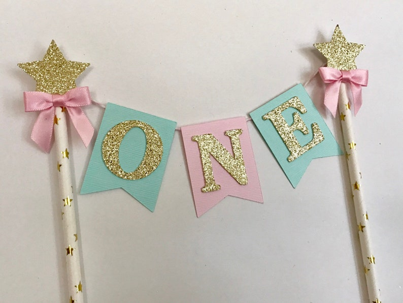first birthday cake topper Bow Tie Cake Topper Navy /& Gold one cake topper One Smash Cake topper ONE cake topper boy One Cake Topper