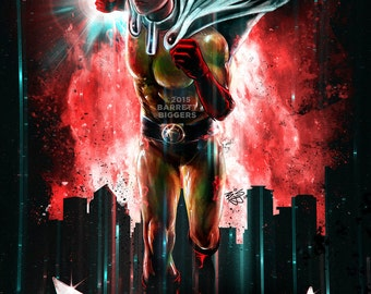 Anime Epic Man Manga Painting Poster Art museum quality giclée fine art print