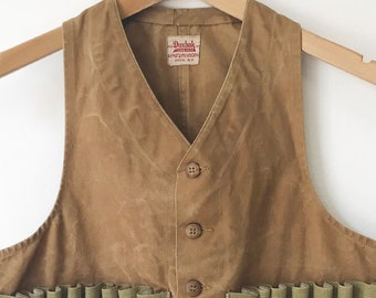 7959d7cb80def Vintage 1940's Duxbak Hunting Outdoors Vest size X-Small