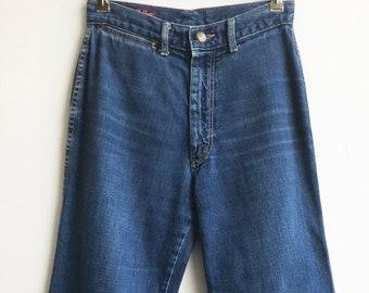 f48734d591 Vintage Unique 80 s Indigo Denim Landlubber Jeans size 25 x 30