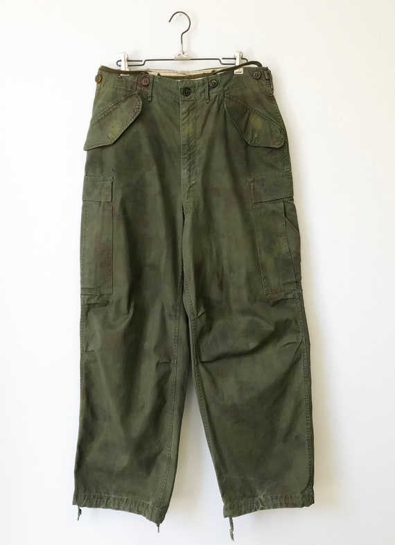 Vintage Military M-51 Cargo Pants size Small Regu… - image 1