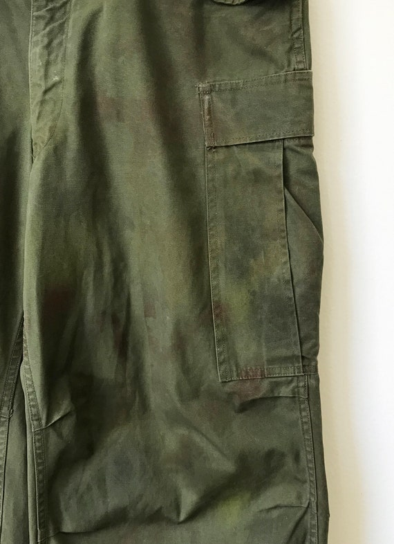 Vintage Military M-51 Cargo Pants size Small Regu… - image 4