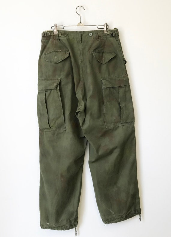 Vintage Military M-51 Cargo Pants size Small Regu… - image 7
