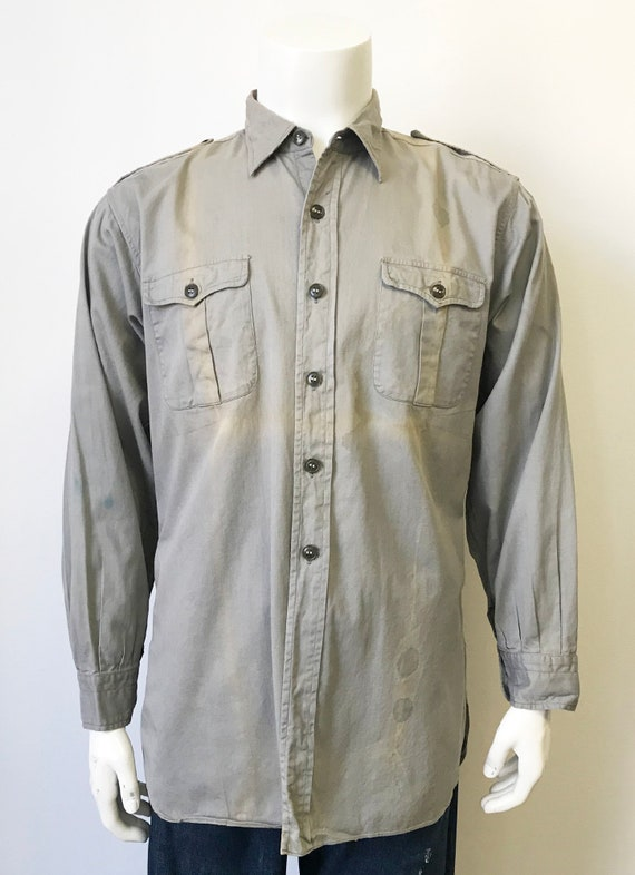Vintage 1940's/50's Champion Work Shirt size XL