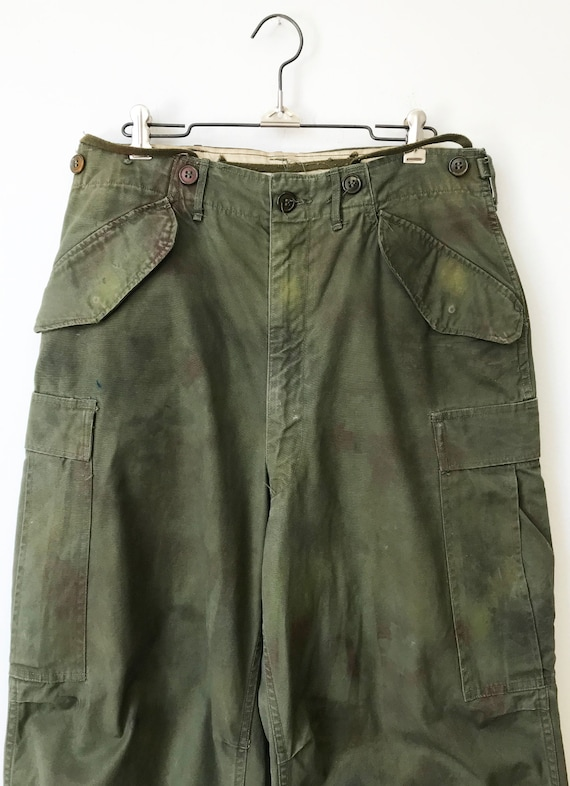 Vintage Military M-51 Cargo Pants size Small Regu… - image 2