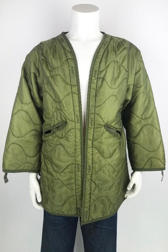 Vintage Military Parka Liner Jacket size Medium