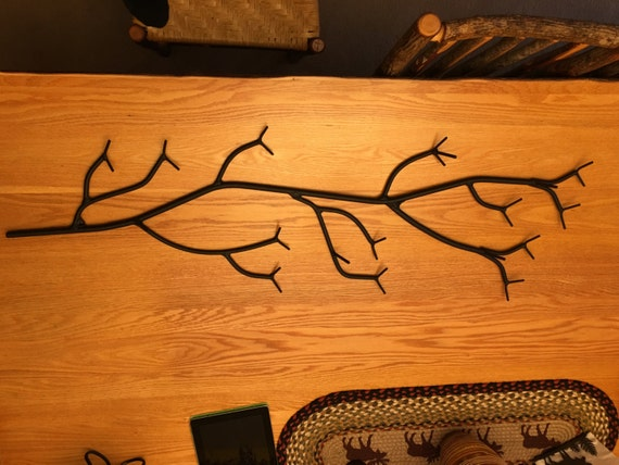 Branch Shaped coat unique Sturdy solid metal adirondack made towel rack