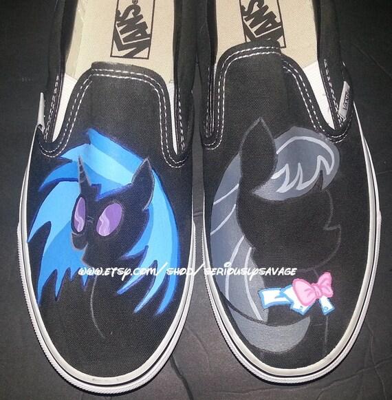 Prêt à Mail aujourd'hui My Little Little Little Pony Octavia Djpon3 vinyle Scratch Silhouette Custom peint chaussures Vans 8,5   10 wo  Noir  paire   Only | Outlet Store Online  740e66