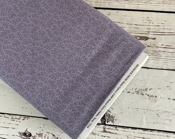 Mill Book (purple) by Howard Marcus for Moda Fabrics, Sold in 1/2 yard incriments, Fabric by the Yard