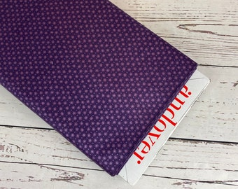 Asterisks in Purple by Lizzy House for Andover Fabrics, Sold in 1/2 yard incriments, Fabric by the Yard