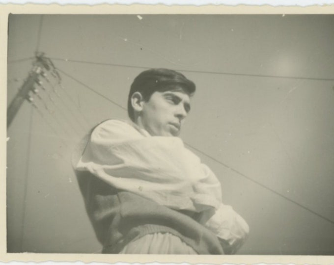 Vintage Snapshot Photo: Greece, 1960s [810734]