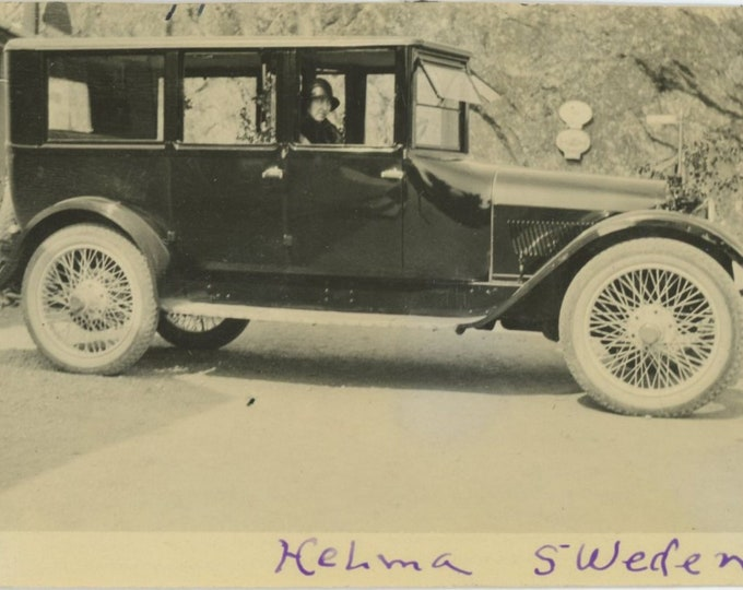 Vintage Snapshot Photo: Helma, Sweden, c1920s [85671]