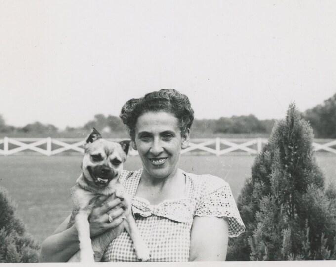 Vintage Snapshot Photo: Teeth [89727]