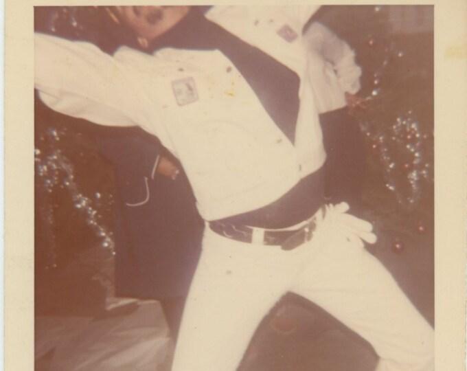 Vintage Snapshot Photo: Dancer, c1970s [85674]