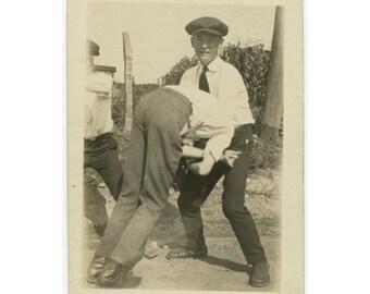 Vintage Snapshot Photo: Beating [85671]