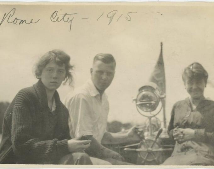 "Vintage Snapshot Photo: ""Rome City, 1915"" [811739]"