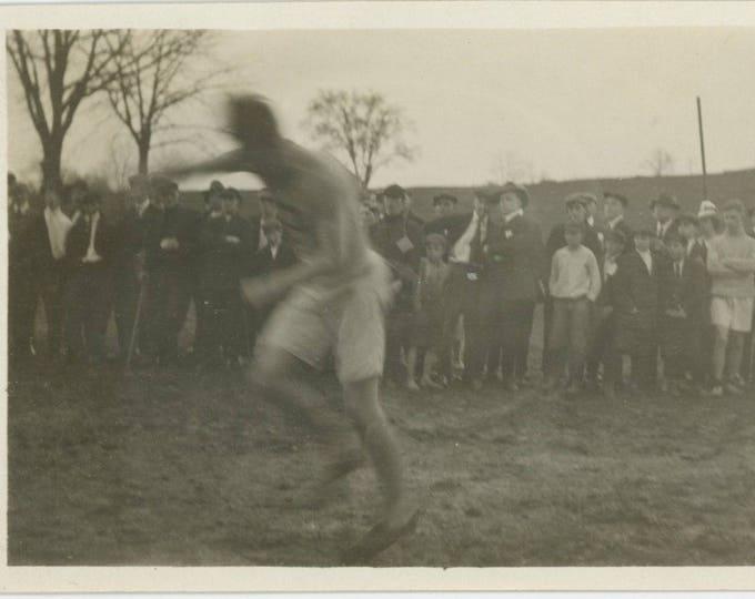 Vintage Snapshot Photo: Sport [82651]