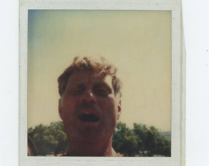 Vintage Polaroid SX-70 Snapshot Photo: Guy, 1984 [82649]