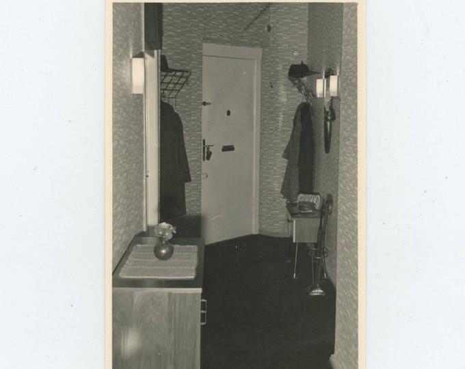Vintage Snapshot Photo: Hallway [82651]