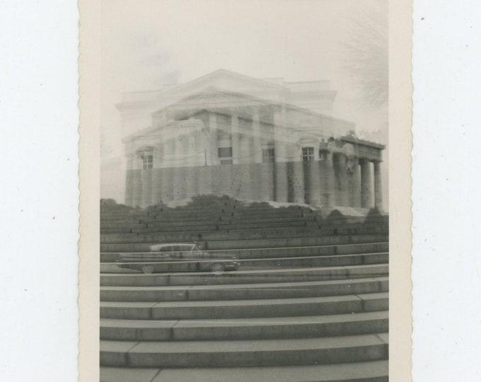 Double Exposure: Vintage Snapshot Photo [89723]