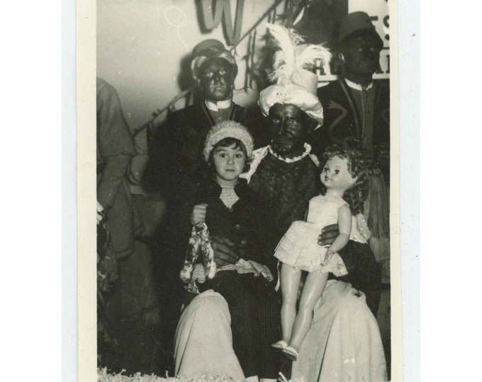 Vintage Snapshot Photo: Moorish Christmas Ritual, Spain, 1963  [810730]