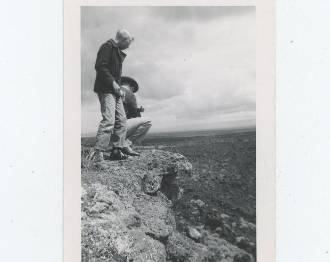 Vintage Snapshot Photo: Precipice (88718)