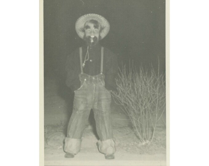 Vintage Snapshot Photo: Freaky [810734]