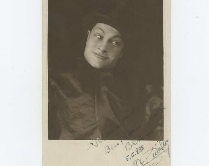 Vintage Portrait Photo: Clown, Turkey, 1938 [86696]