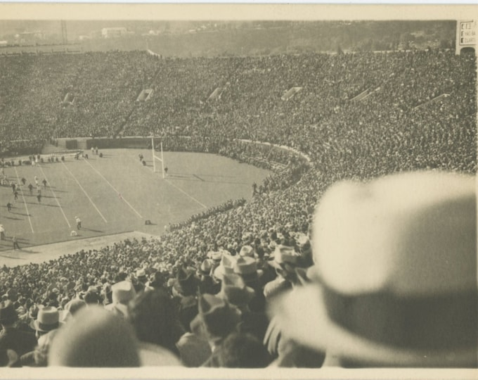 Vintage Snapshot Photo: The Big Game, c1940s [811743]