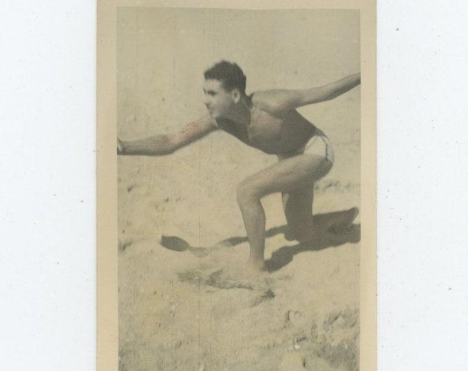 Vintage Snapshot Photo: Greece, 1949. [Lightly Hand-Tinted]. [89723]