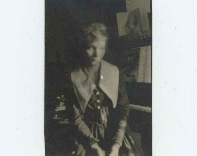 Vintage Snapshot Photo: Wistful [86696]