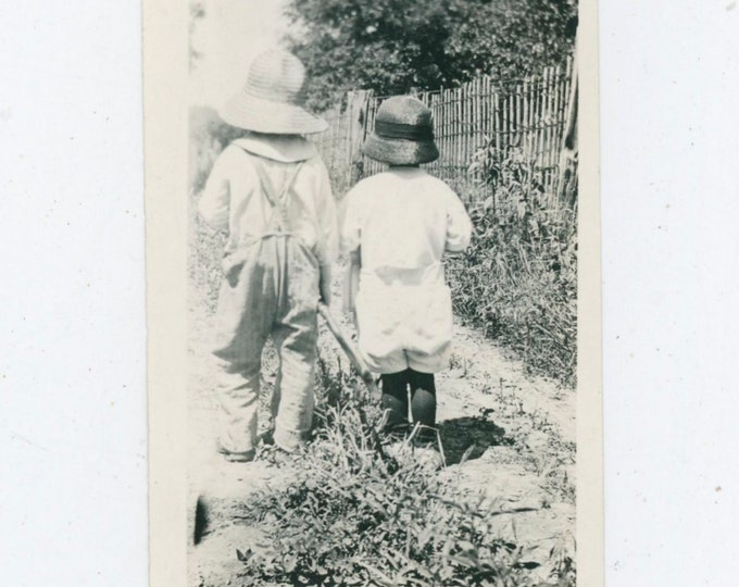 Vintage Snapshot Photo: Days of Summer, c1920s [91767]