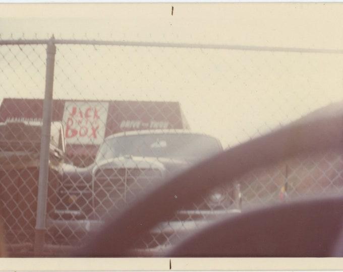 Jack in the Box: Vintage Snapshot Photo [85674]