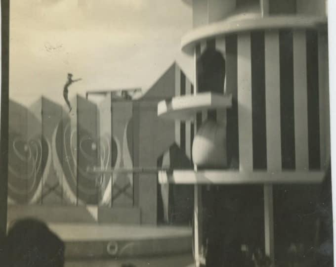 Vintage Snapshot Photo: High Dive [86680]