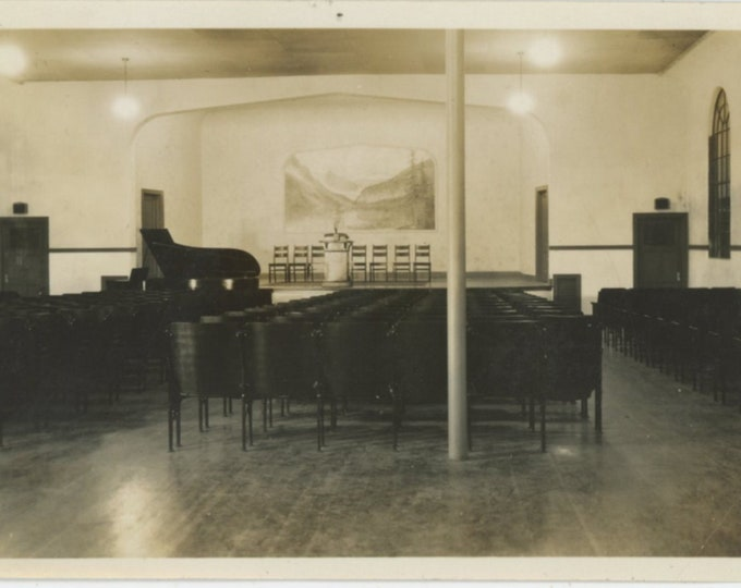 Vintage Snapshot Photo: Auditorium [89724]