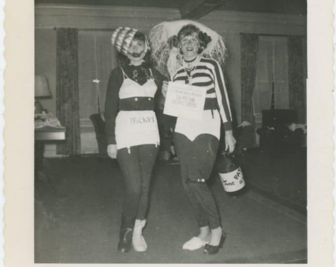 Vintage Snapshot Photo: Party Girls, c1950s [85676]
