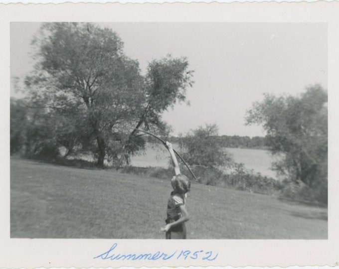 "Vintage Snapshot Photo: ""Summer 1952"" [85676]"