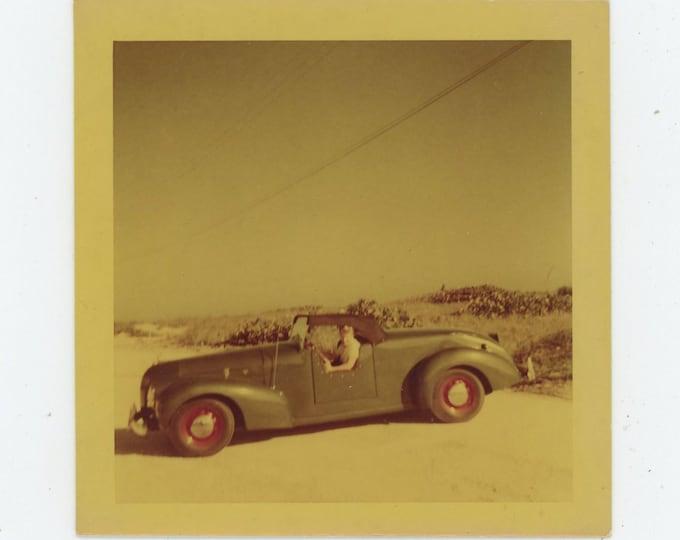 Kodacolor Print Snapshot, 1953: Sports Car (88709)