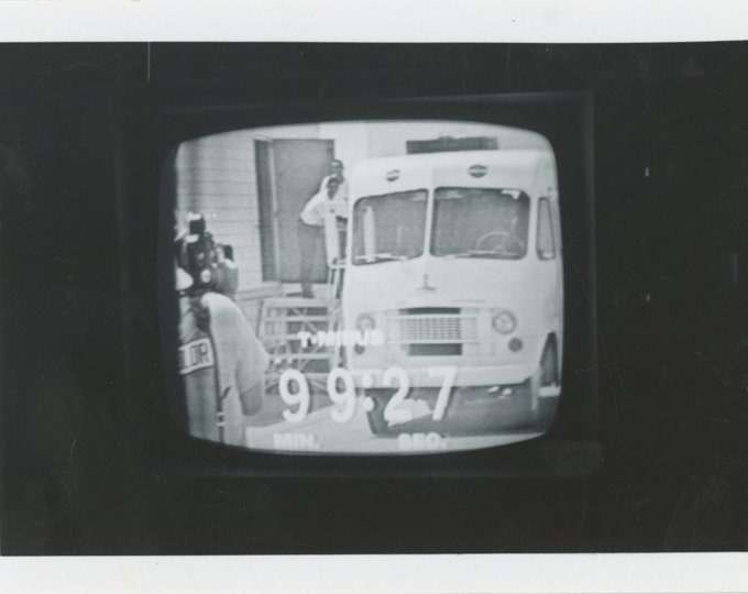 "Vintage Snapshot Photo ""T Minus 99:27"" TV Screenshot [89726]"