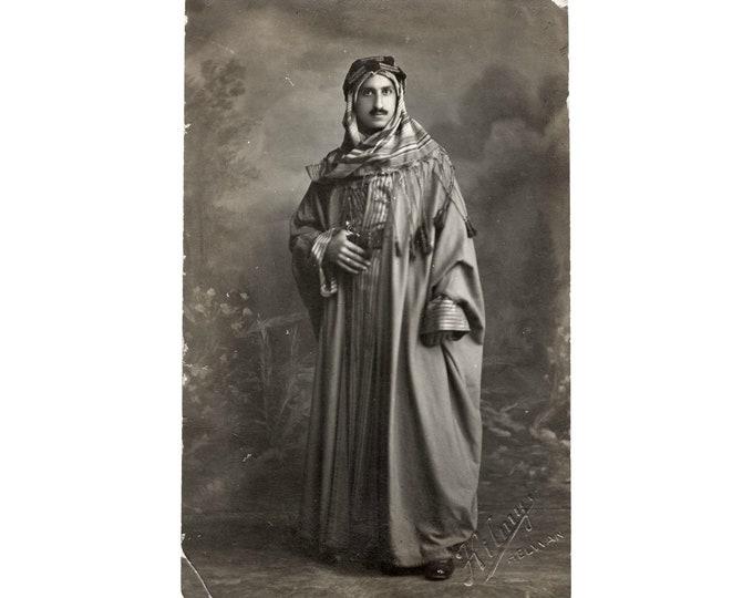 Vintage Portrait Photo: Young Arab Man, Helwan, Egypt, c1930s [811739]