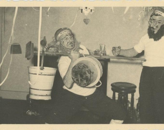 Vintage Snapshot Photo: Strange Ritual (88713)