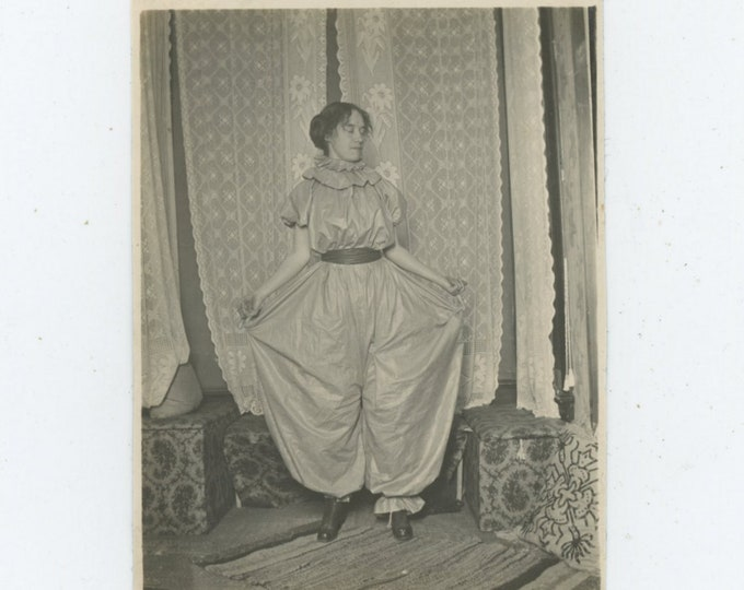 Vintage Snapshot Photo: Costume [89723]
